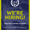 LEC announces an opportunity for an experienced Industrial Control Engineer to join our cutting-edge Engineering Team!